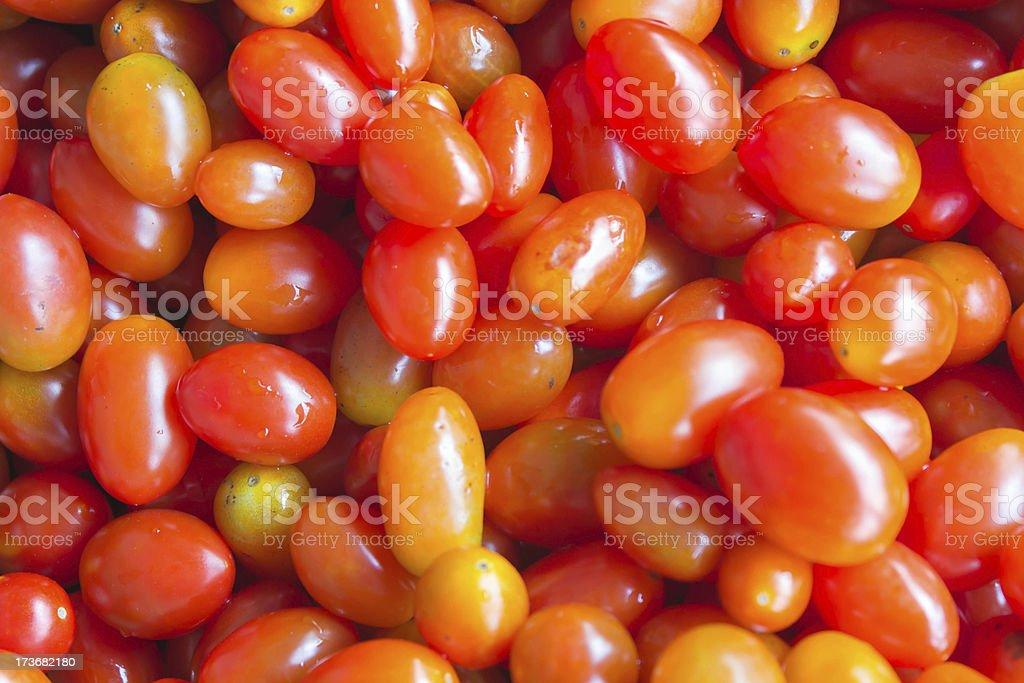 Photo of cherry tomatoes royalty-free stock photo