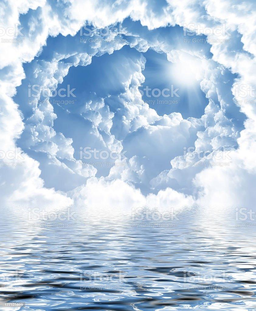 Foto von Wolken und Sonne – Foto