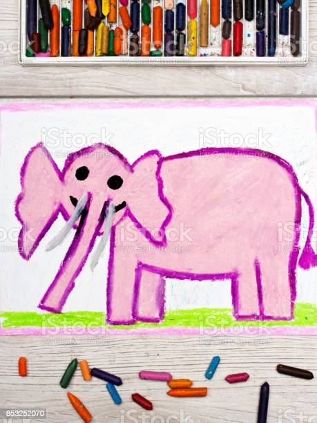 Photo of colorful drawing smiling pink elephant picture id853252070?b=1&k=6&m=853252070&s=612x612&h=7xoe 8xfxwr332pbsef0fxxn6fo2tj97qme4rquc4a0=