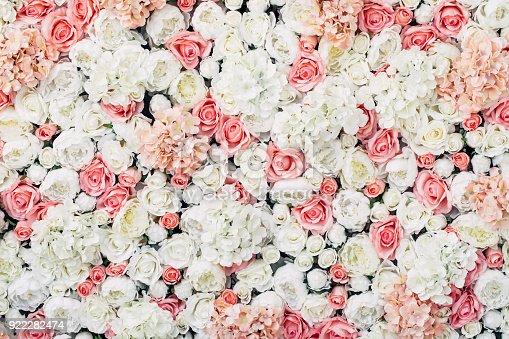 Photo of floral wall