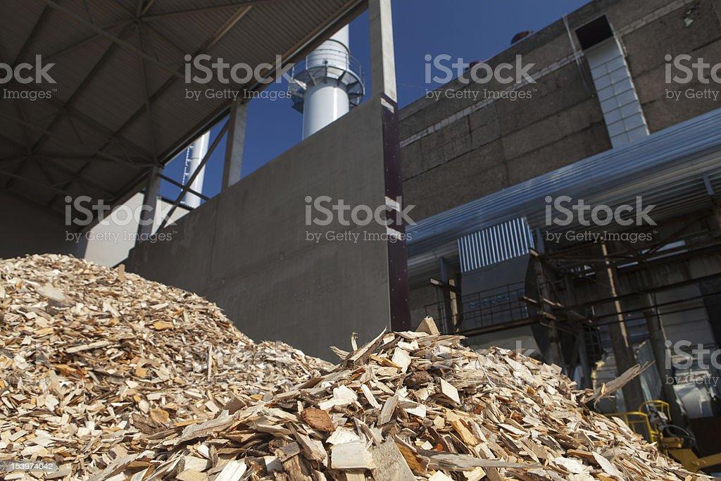 Wood-chips Lizenzfreies stock-foto