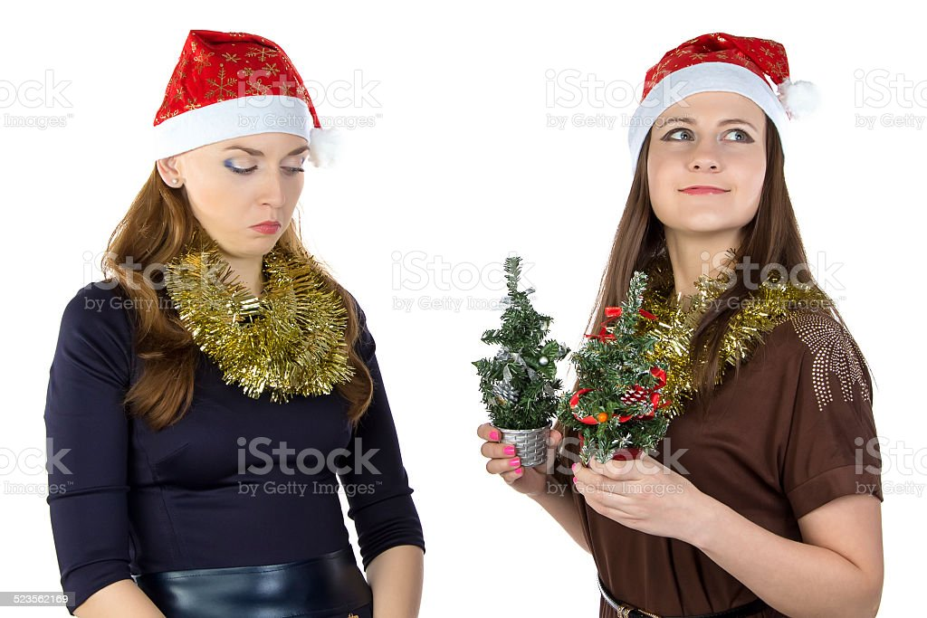 Photo of inequity in Christmas day stock photo