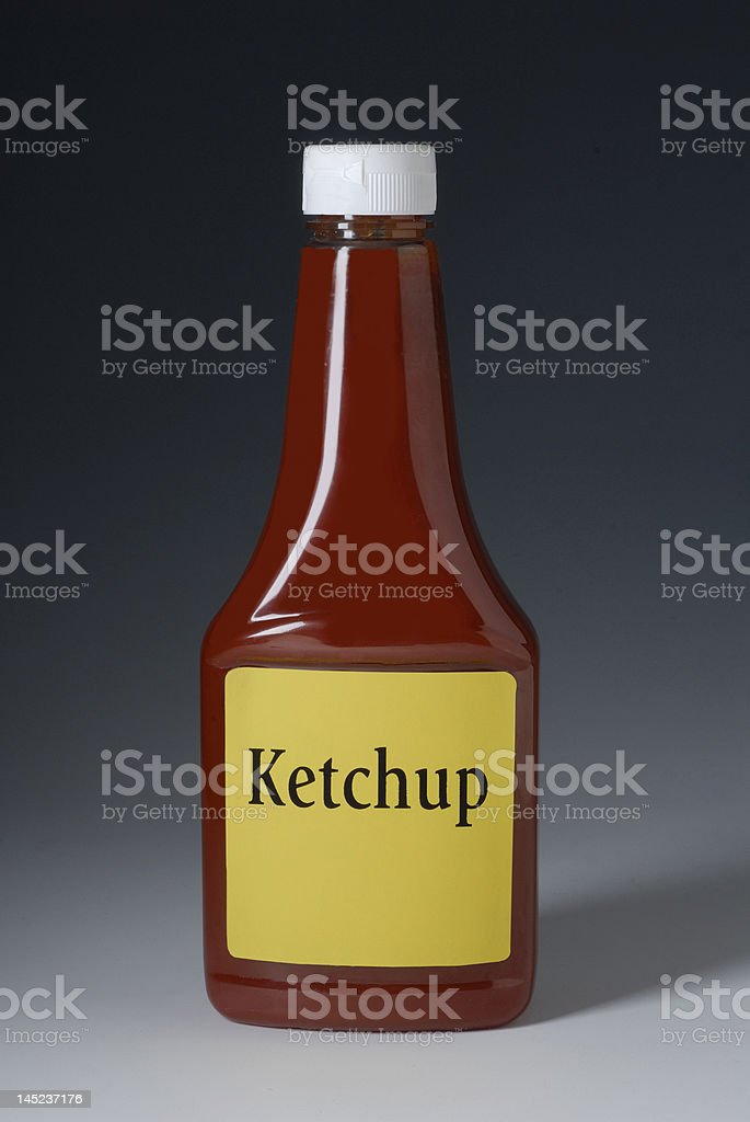 Photo of Ketchup Bottle royalty-free stock photo