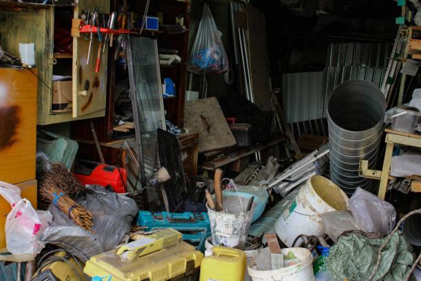 photo of mess in the house while repairing - desarrumação imagens e fotografias de stock