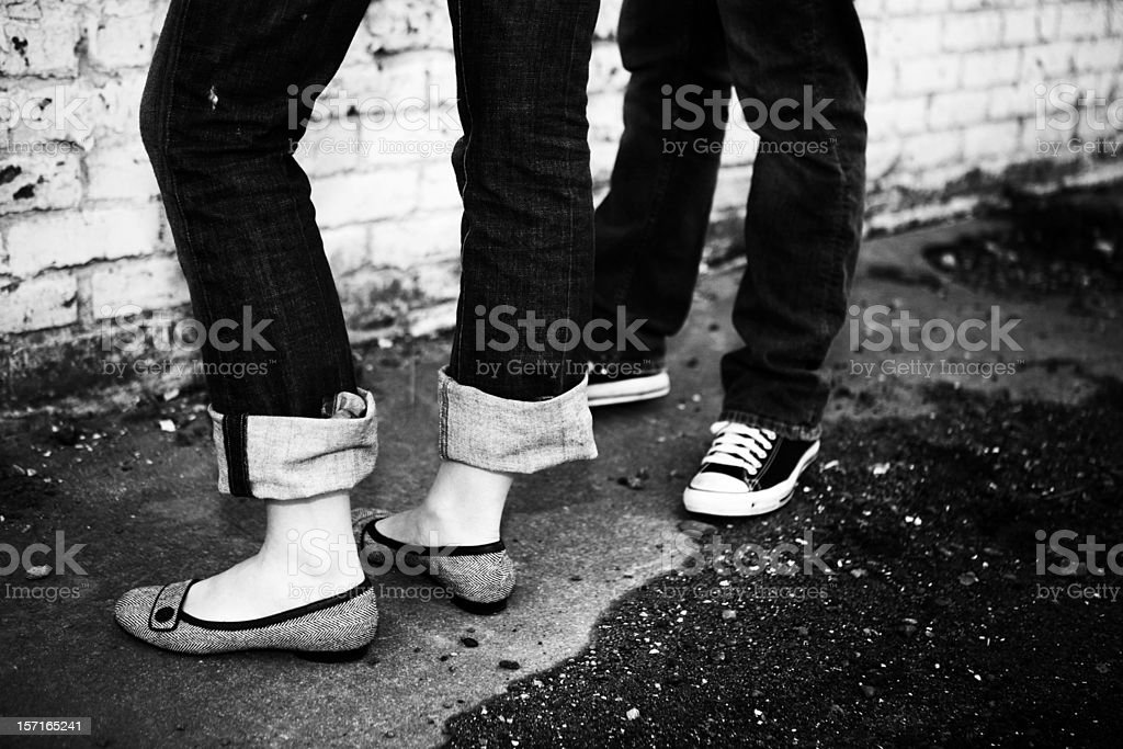 Photo of Modern Shoes royalty-free stock photo