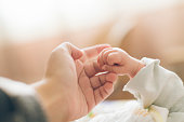 Baby, Newborn, Hand, Pregnant, Sleeping