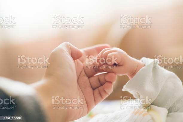 Photo of Photo of newborn baby fingers