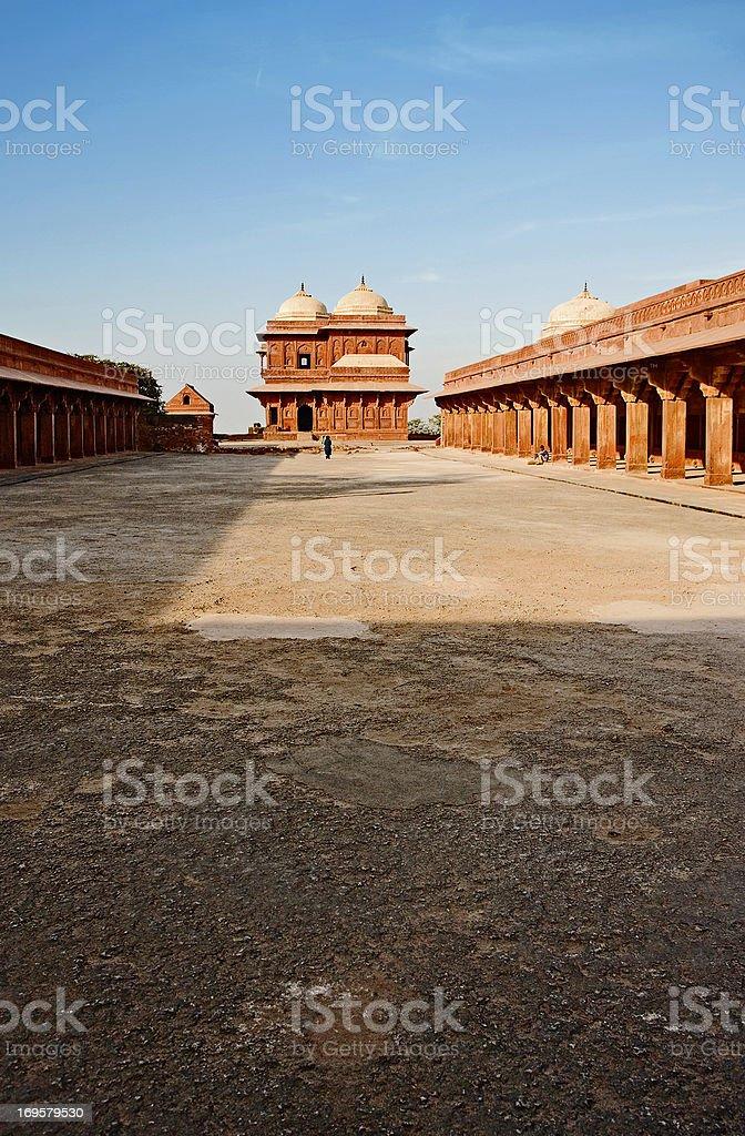 Ein Foto alte muslimische Architektur in Indien Lizenzfreies stock-foto