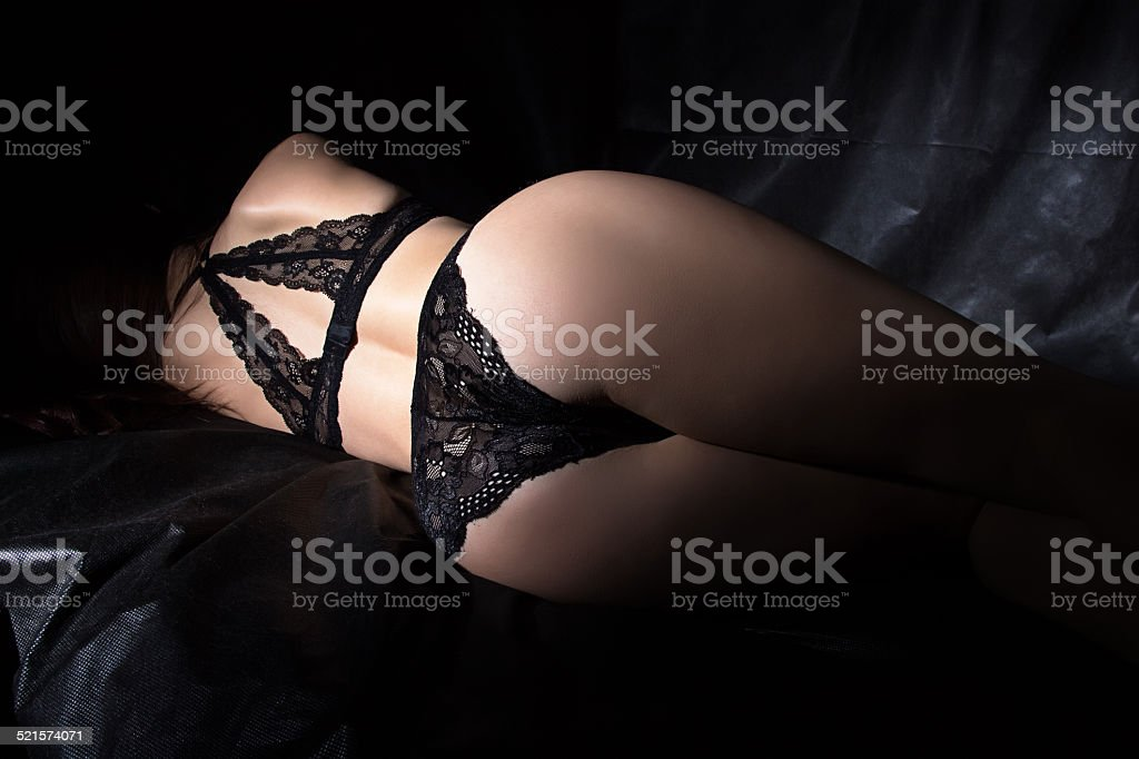 Photo of sexy woman's buttocks stock photo