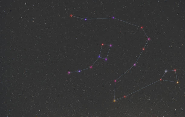 Best Draco Constellation Stock Photos, Pictures & Royalty