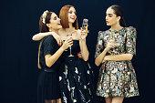 istock Photo of three laughing girls 537181744