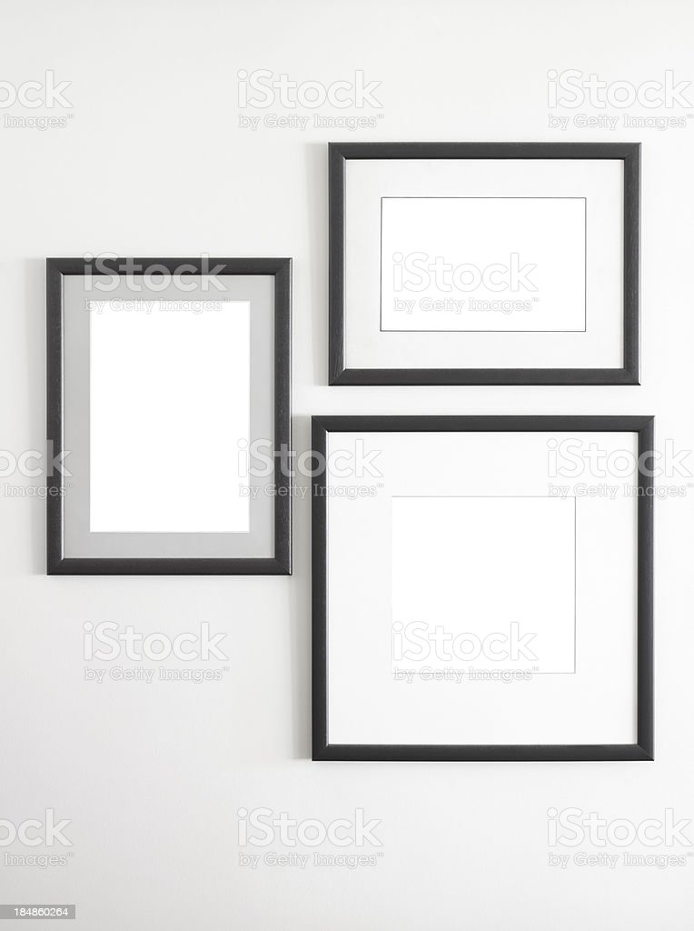 photo or picture frames stock photo