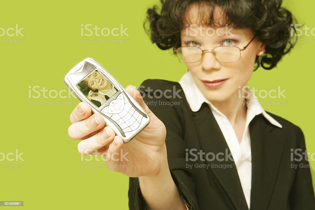 Photo Phone royalty-free stock photo
