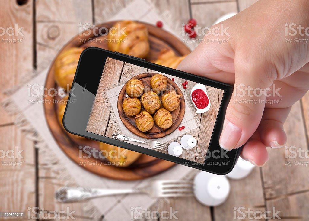 photo potato stock photo