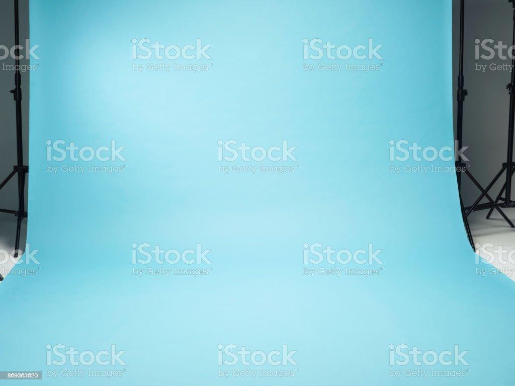 Photo Set Turquoise Background stock photo