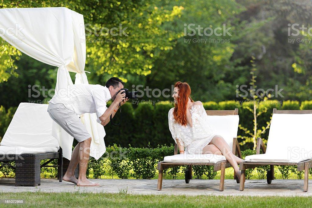 photo shooting royalty-free stock photo