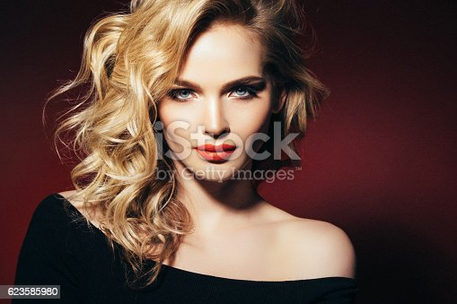 istock Photo shot of young beautiful woman 623585980