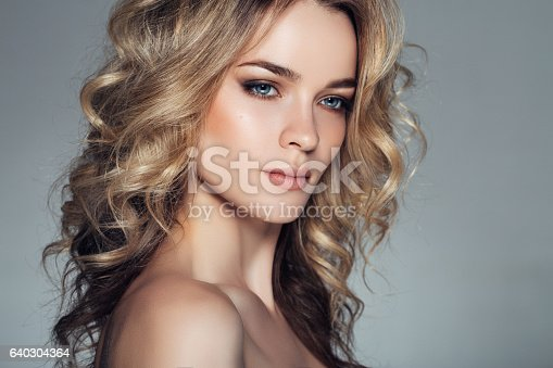 istock Photo shot of young beautiful woman 640304364