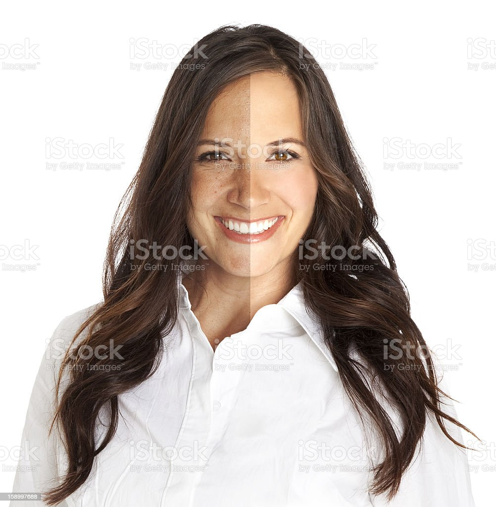 Photo Touch-up stock photo