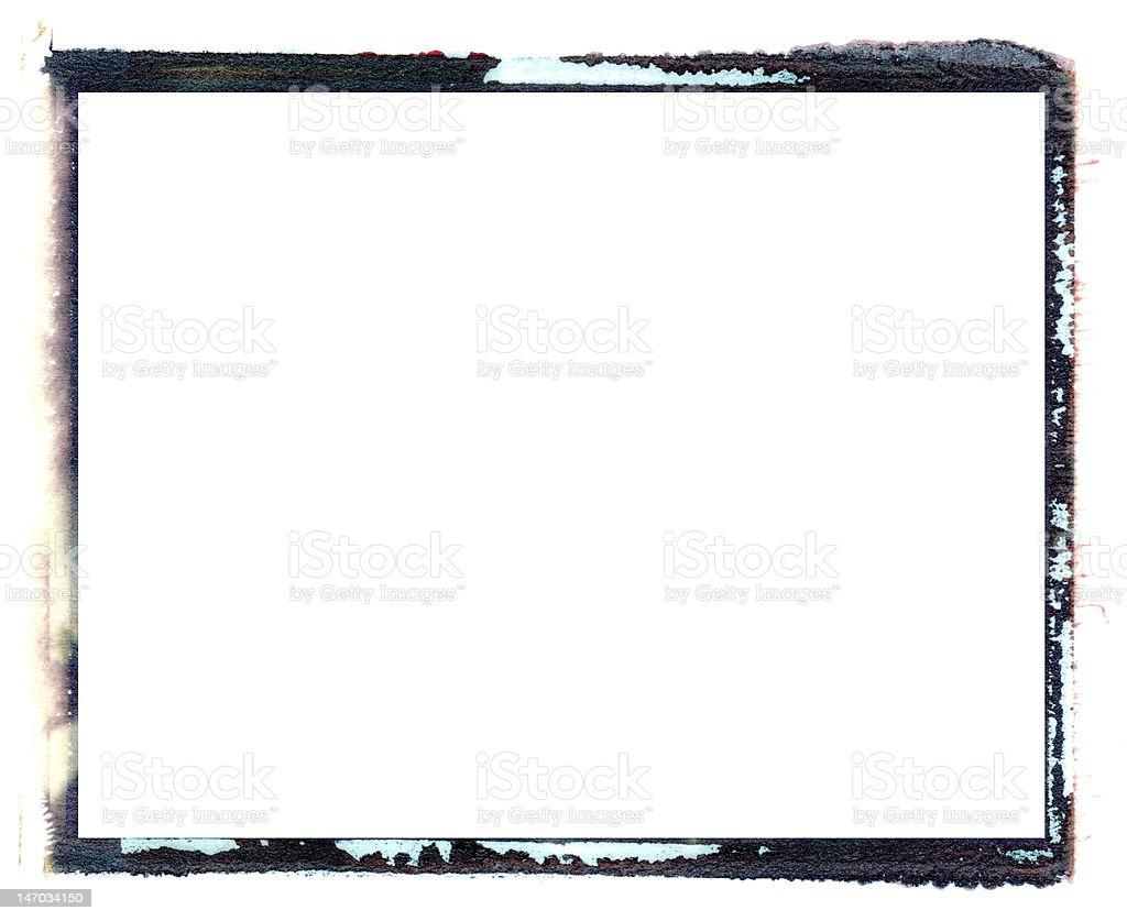 Photo Transfer Border stock photo