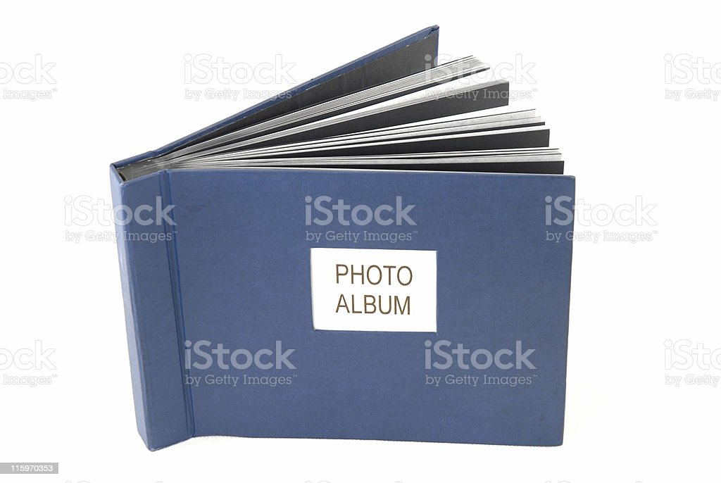 Photo-Album stock photo