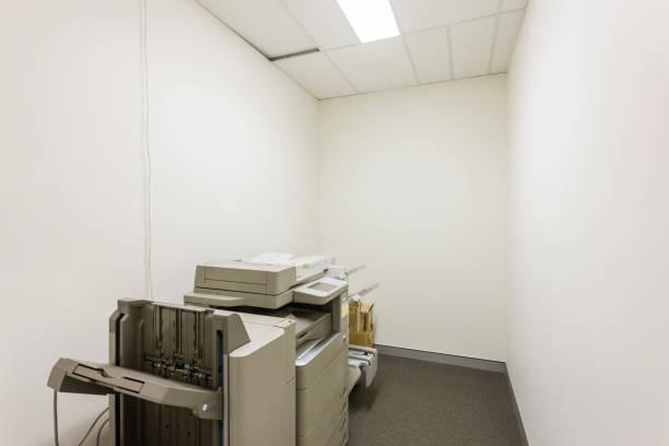 Fotokopier- und Druckerraum – Foto