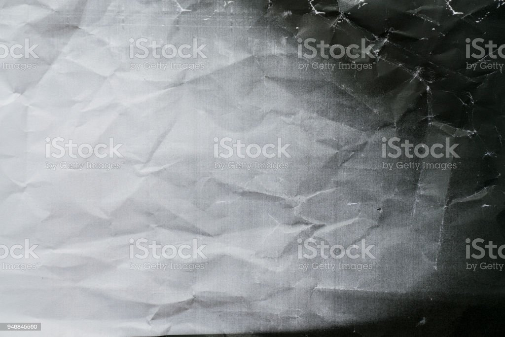Photocopy crumpled texture background, close up stock photo