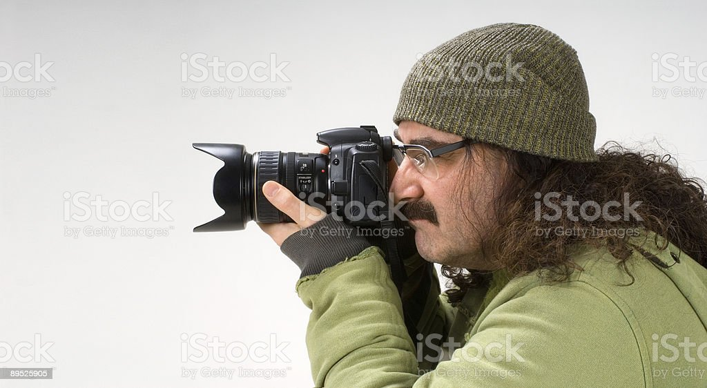 photografer royalty-free stock photo