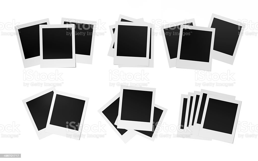 Photograph collection stock photo