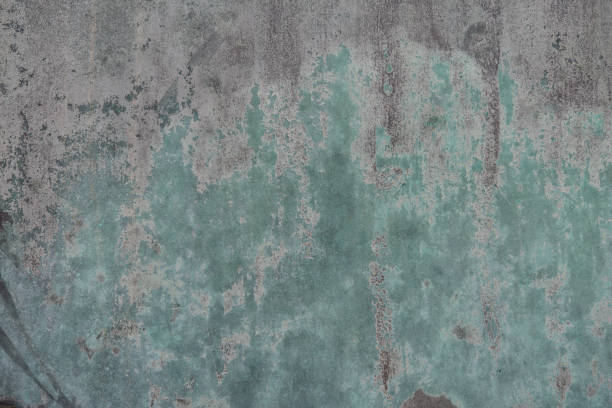 Photograph of a rough metal surface stock photo