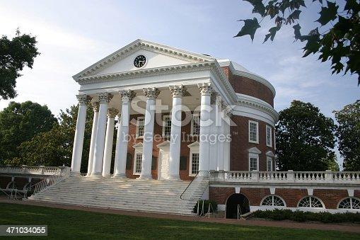 Jefferson's Rotunda at the University of Virginia in Charlottesville