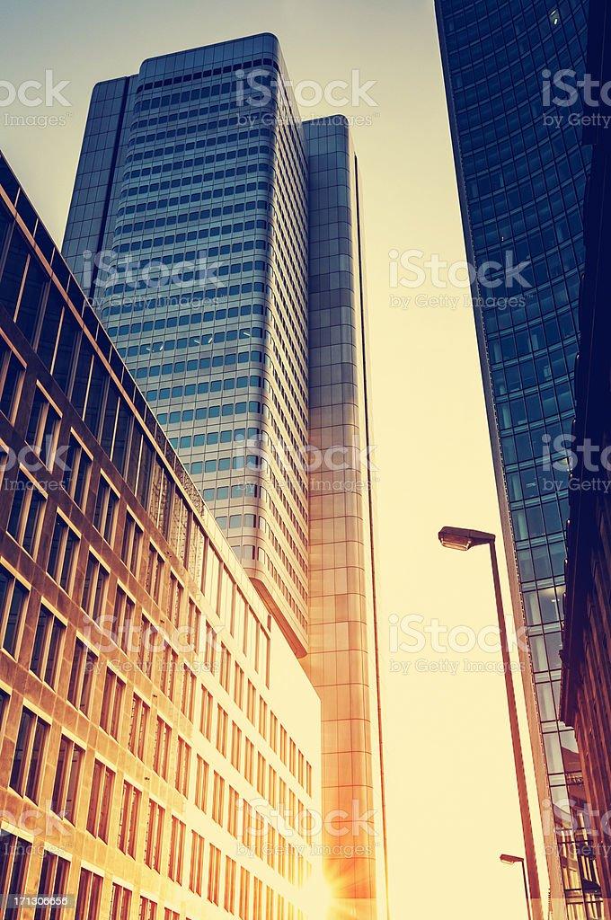 Bürogebäude Lizenzfreies stock-foto