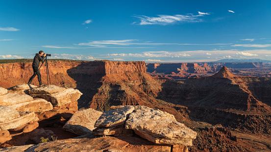Canyonlands at Sunset, Utah, USA