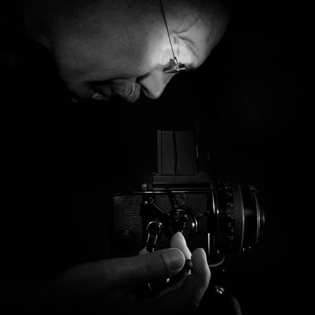Photographe au travail - Photo