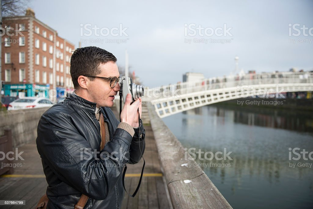 Photographer in Dublin. royalty-free stock photo