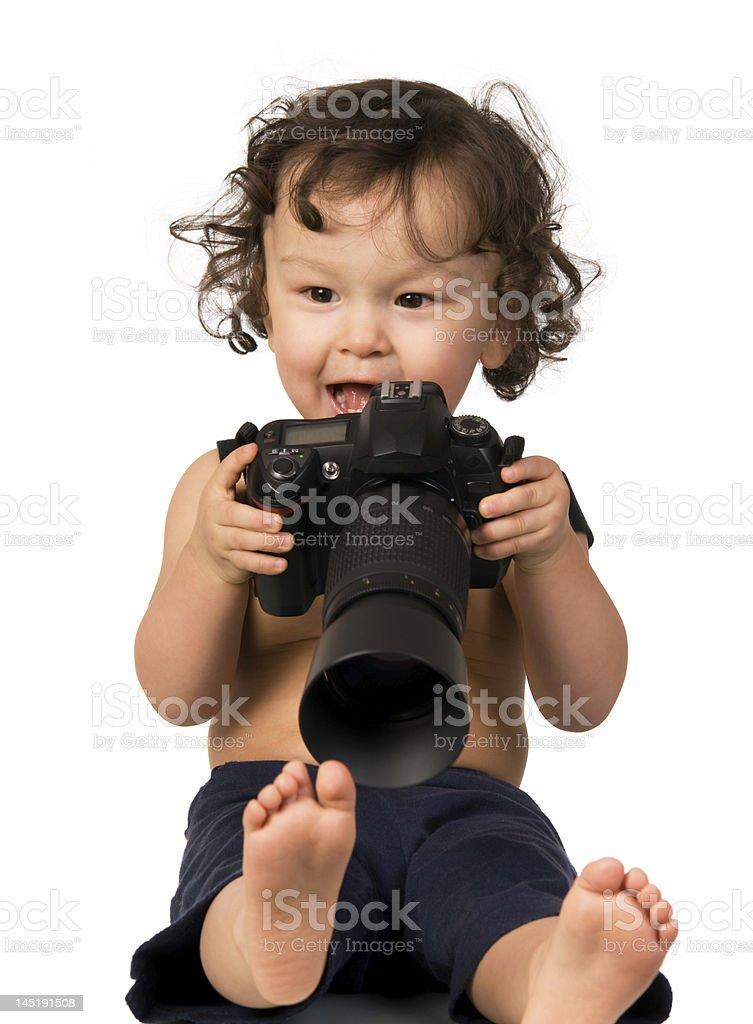 Photographer. royalty-free stock photo