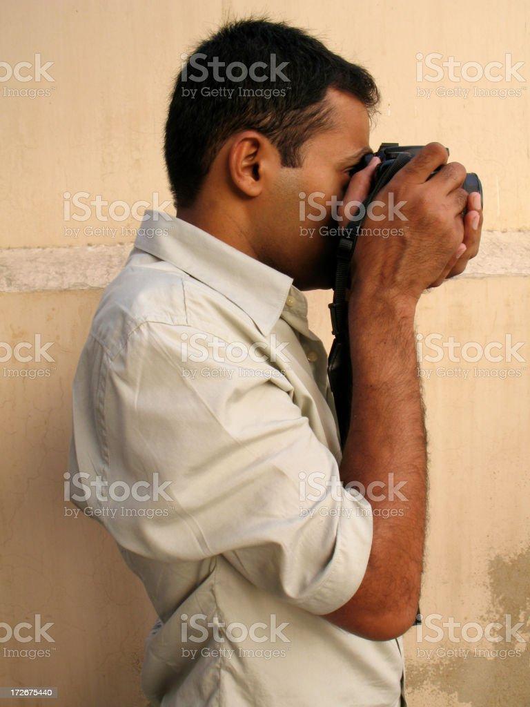 Photographer royalty-free stock photo