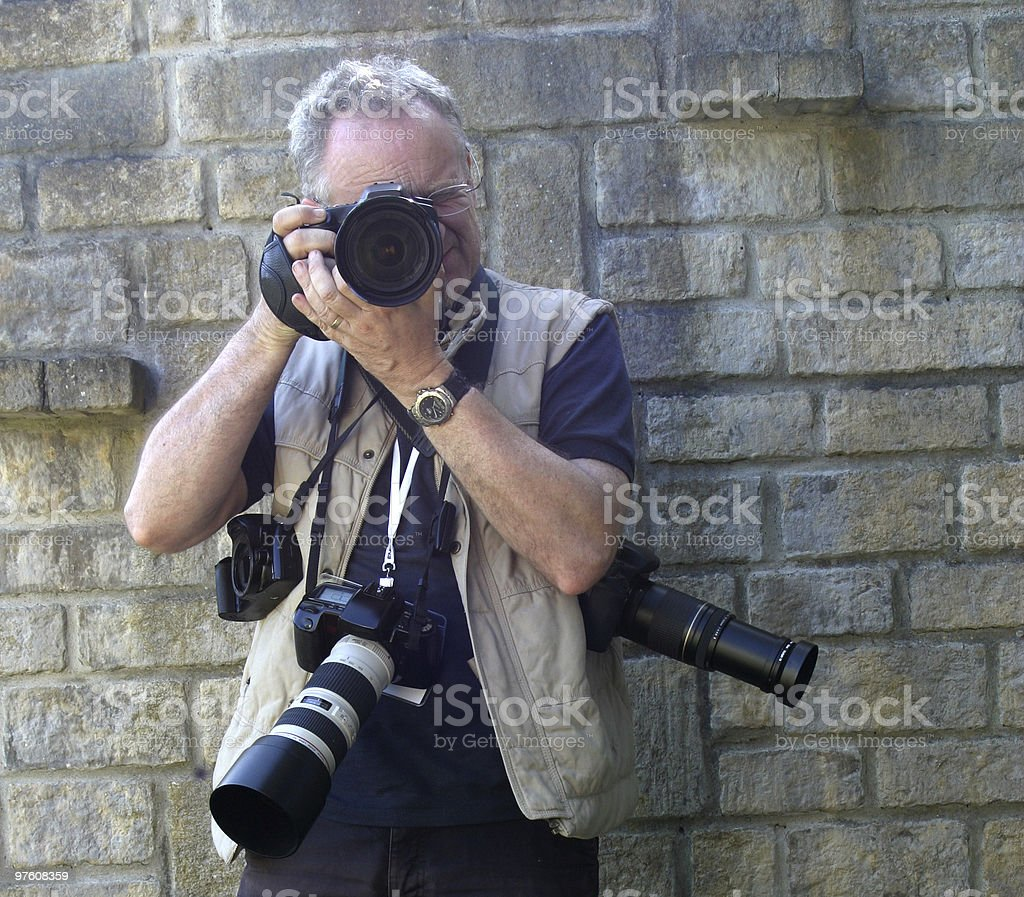 Photographer? royalty-free stock photo