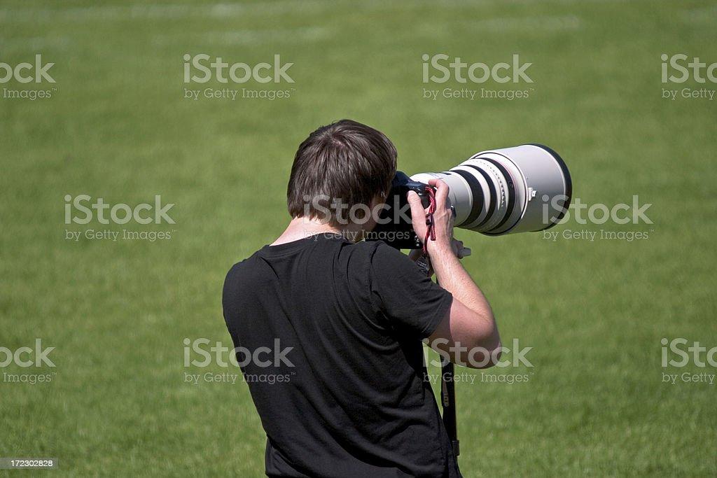 photographer pro stock photo