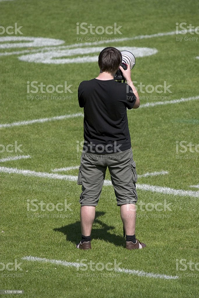 photographer professional stock photo