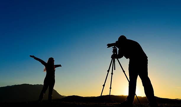 fotógrafo de fotos - video modelo fotografías e imágenes de stock
