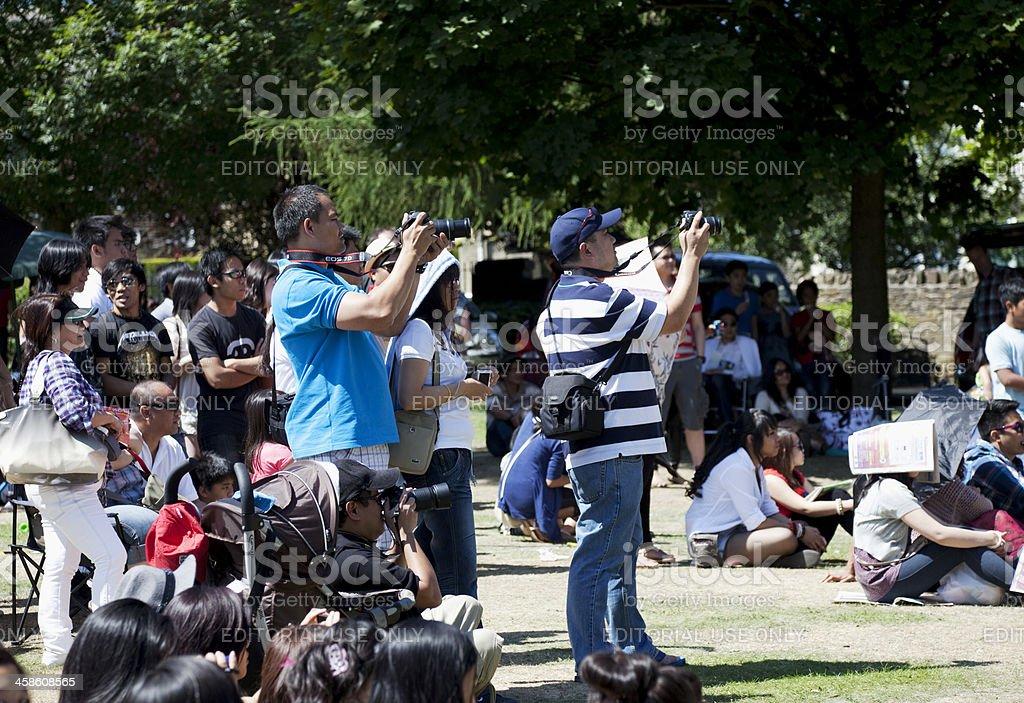 Photographers At A Filipino Festival Stock Photo & More
