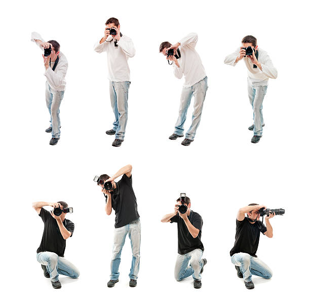 Photographers with camera isolated on white picture id155156547?b=1&k=6&m=155156547&s=612x612&w=0&h=sxahsabxgcoci2kl3gsakcivjssu9ei a1zi5pilhk8=