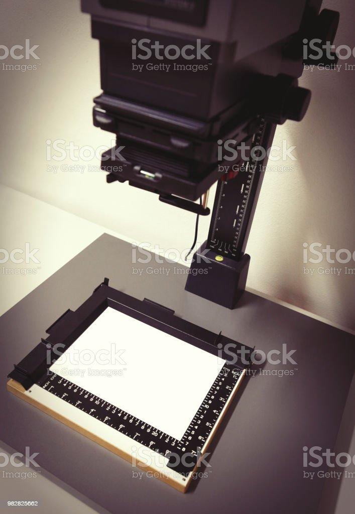 Ampliador fotográfico - foto de acervo