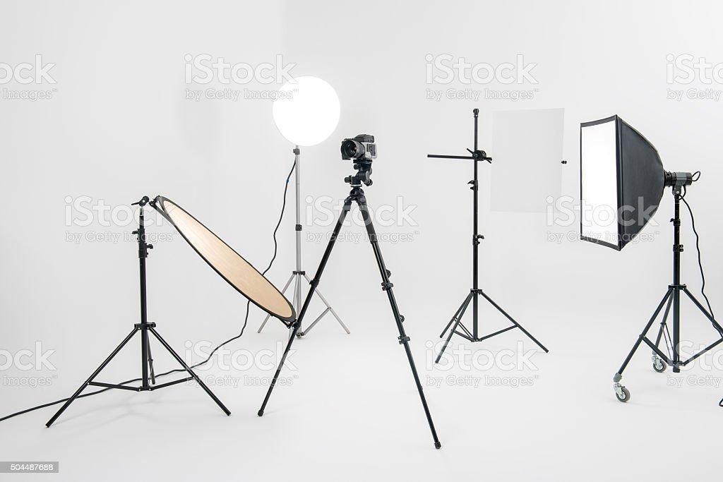 Photographic equipment stock photo