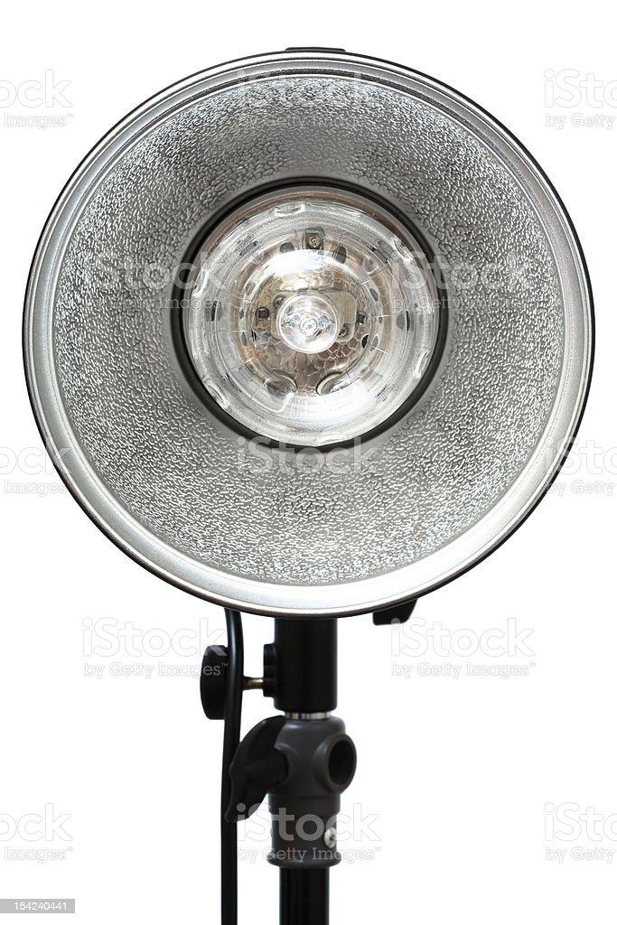 photographic flash stock photo