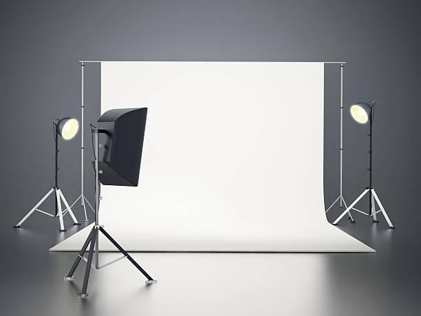 Photographic studio stock photo