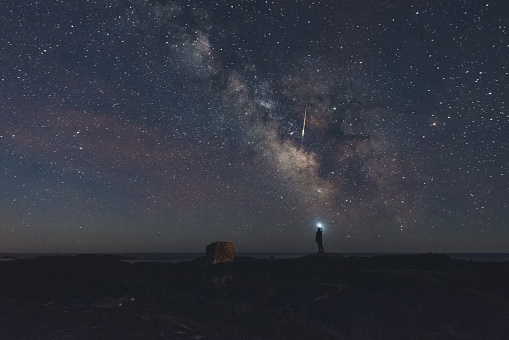 Photographing a Meteor