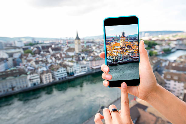 Photographing Zurich cityscape - Photo