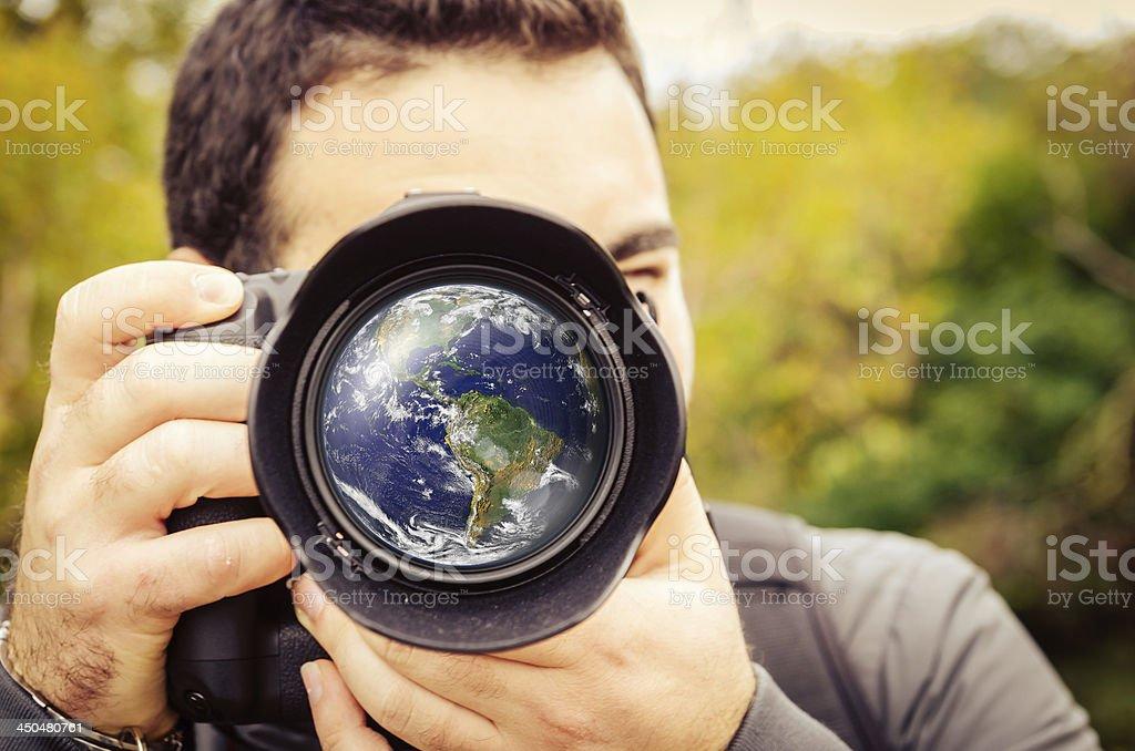 Photography And Travel Around The World stock photo